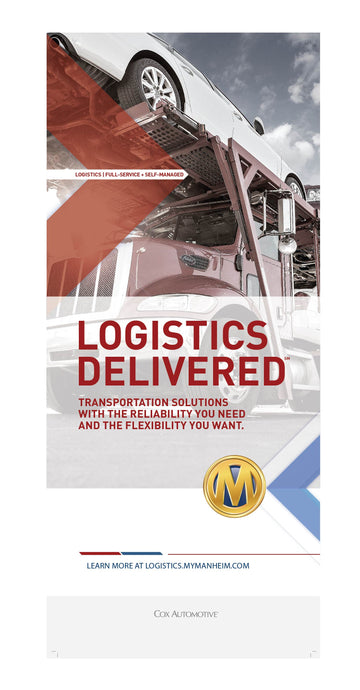 Logistics Delivered Roll Up Banner - 33