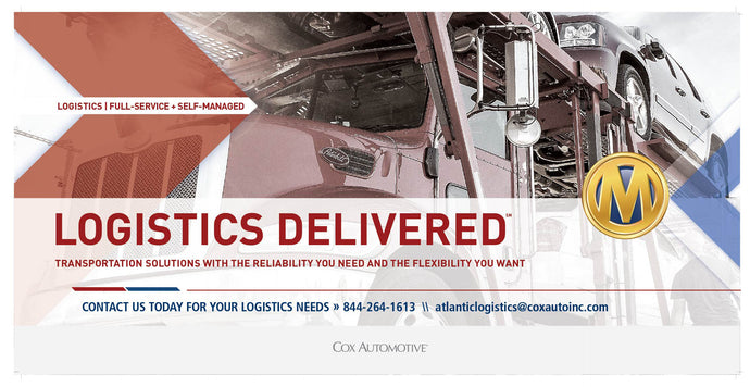 Manheim Logistics ATLANTIC Banner - 72