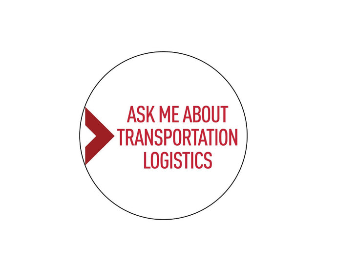 Manheim Logistics 3 Inch Button w/ Magnetic Backing
