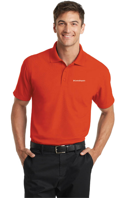 Central Dispatch Port Authority Men's Dry Zone Grid Polo