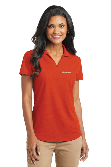 Central Dispatch Port Authority Ladies Dry Zone Grid Polo