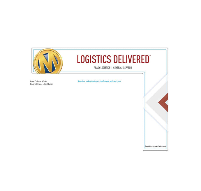 Manheim Logistics Full Color Monitor Topper