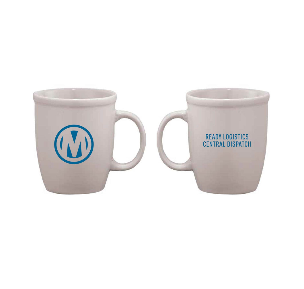 Manheim Logistics Matte Ceramic 12oz. Mug