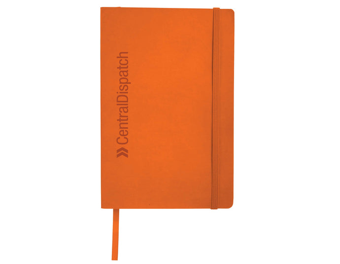 Central Dispatch Orange Pedova™ Soft Bound JournalBook™