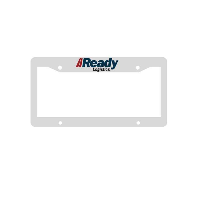 Ready Logistics License Plate Frames