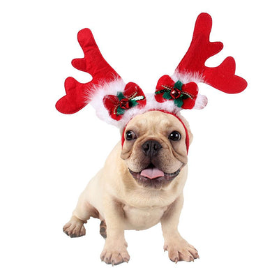 Cute Antlers Shape Pet Headgear - Sporty Types