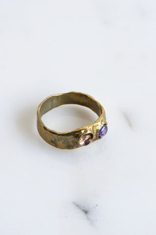 Mondo Mondo Felt Brass Ring | Oroboro Store | Brooklyn, New York