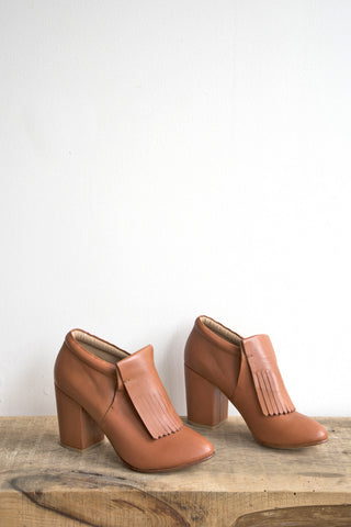 Falcon Bootie in Caramel