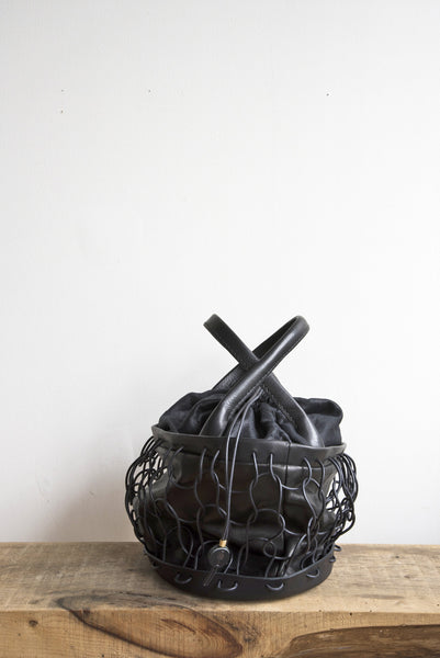Charcuterie Bag in Black