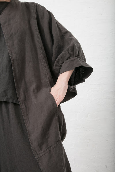 Black Crane Spoon Jacket in Charcoal | Oroboro Store | New York, NY