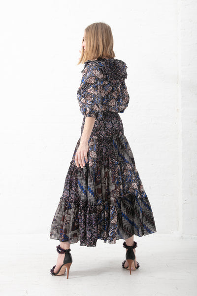 Ulla Johnson Asilia Skirt in Indigo | Oroboro Store | New York, NY