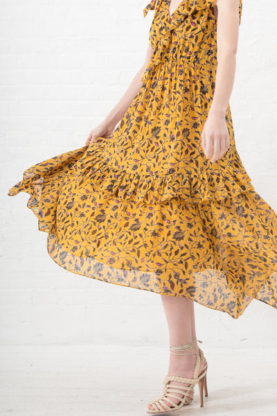 Ulla Johnson Dania Dress in Amber | Oroboro Store | New York, NY