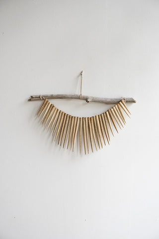 Heather Levine Ceramic Spike Wall Hanging | Oroboro Store | Brooklyn, New York
