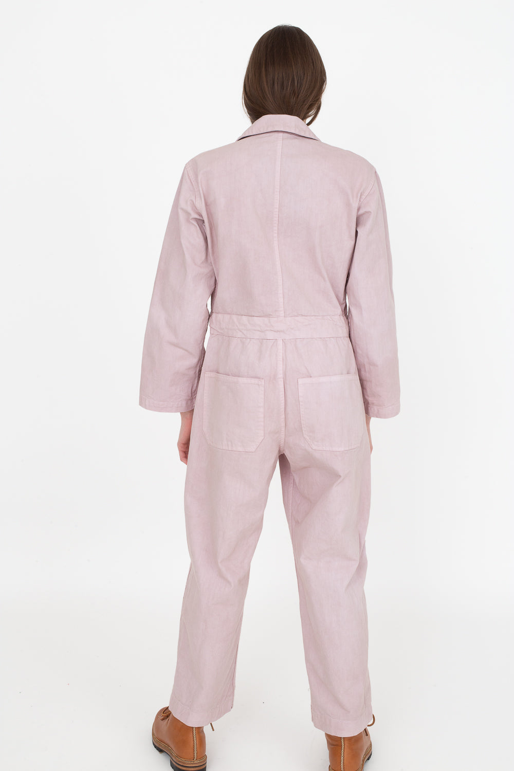 Zip Jumpsuit in Lavender