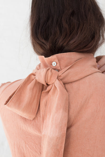 Calyx Bow Tie Top in Pink | Oroboro Store | New York, NY