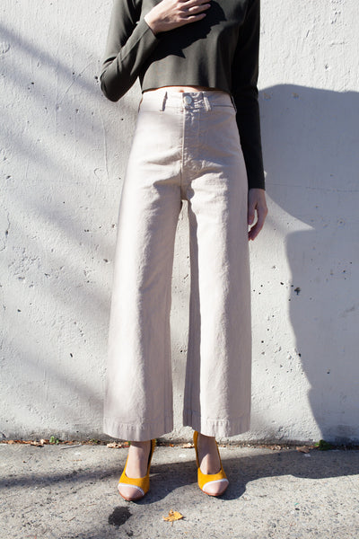 Jesse Kamm Sailor Pant in Street | Oroboro Store | Brooklyn, New York