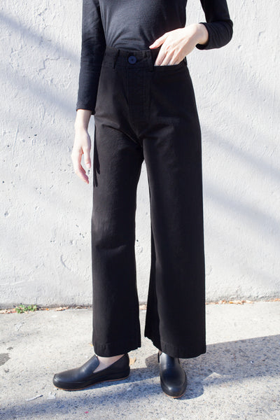 Jesse Kamm Sailor Pant in Black | Oroboro Store | Brooklyn, New York