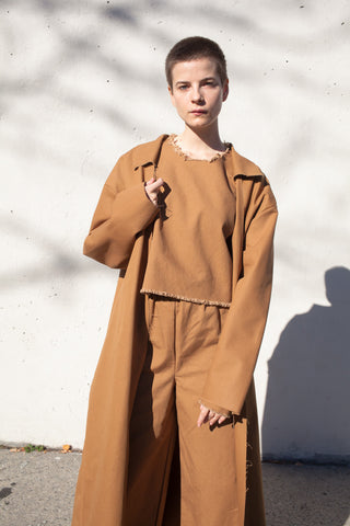 Coat in Tan