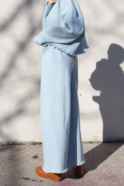 Ashley Rowe Long Pant in Super Light Denim