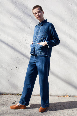 Stewart Pant in Denim