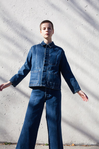 Krasner Jacket in Denim