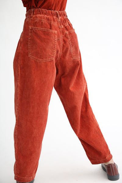 Dr. Collectors P40 Z-Boys Corduroy Pant in Oil Rust back