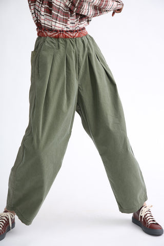Dr. Collectors Kyoto Pant  in Military front