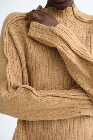 Rejina Pyo Erin Sweater in Beige sleeve