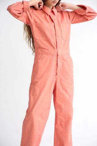 As Ever Zip Jumpsuit in Sweet Gum front