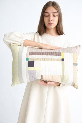Thompson Street Studio Line Pillow in Sage