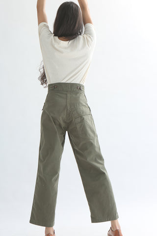 As Ever Tanker Pant in Olive back