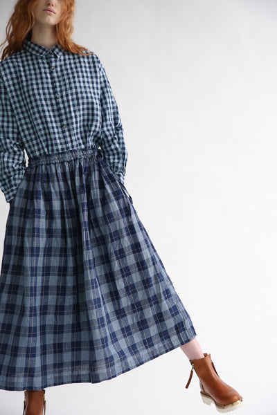 Ichi Skirt in Check front