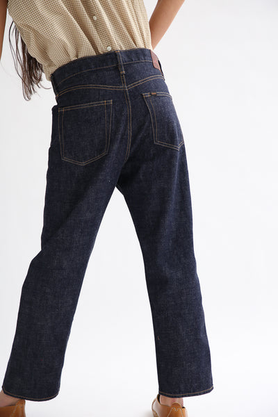 Chimala 13.5 oz. Selvedge Denim Wide Tapered Cut in Rinse back