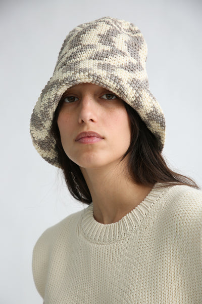 Lauren Manoogian New Bell Hat in Static Space front