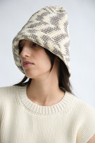Lauren Manoogian New Bell Hat in Static Space side