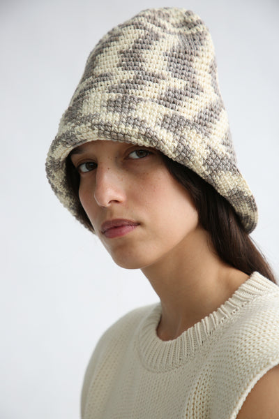 Lauren Manoogian New Bell Hat in Static Space side view