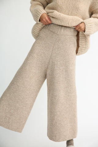 Lauren Manoogian Double Face Pants in Bale front