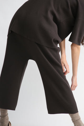 Lauren Manoogian Interlock Peg Pants in Carbon back