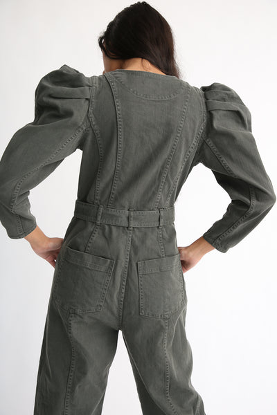 Ulla Johnson Pascal Jumpsuit in Peat back