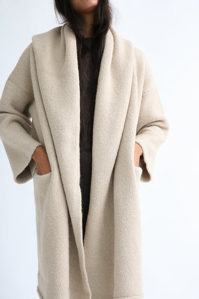 Lauren Manoogian Capote Coat in Antique pocket view