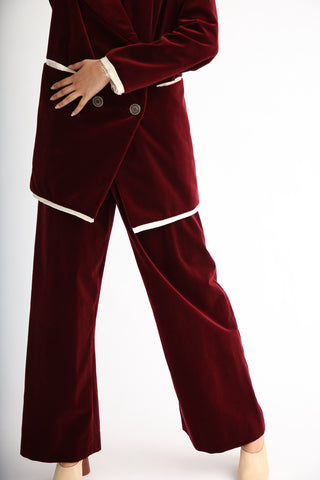 Annother [Archive] Nobility Trousers in Garnet front