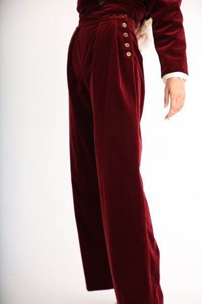 Annother [Archive] Nobility Trousers in Garnet side