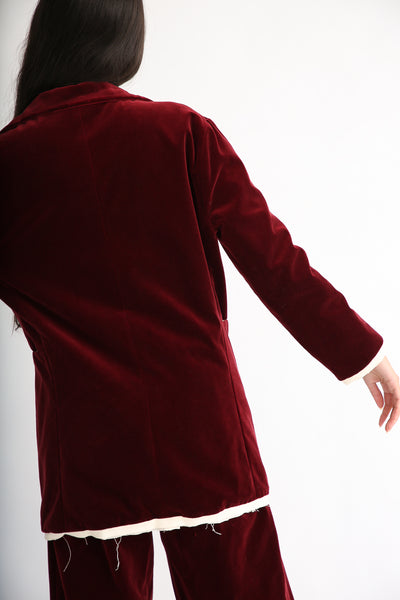 Annother [Archive] Nobility Jacket in Garnet back