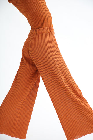 Baserange Maru Pants in Umber side