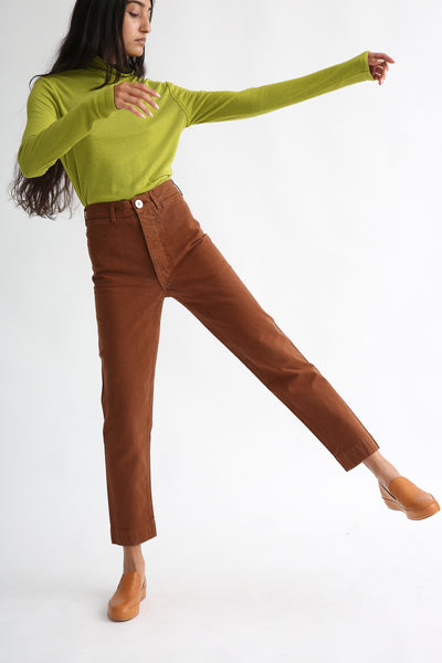 Ranger Pant in Fine Cotton Canvas Skintone on model view front