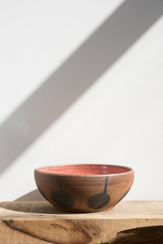 Heather Levine Large Pink Ceramic Bowl | Oroboro Store | Brooklyn, New York