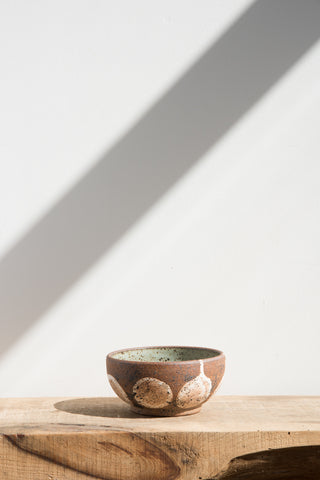 Heather Levine Small Green Ceramic Bowl | Oroboro Store | Brooklyn, New York