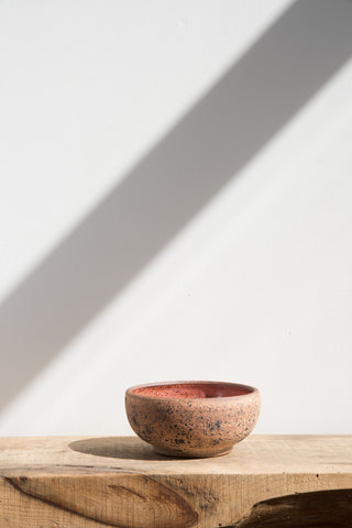 Heather Levine Small Pink Ceramic Bowl | Oroboro Store | Brooklyn, New York