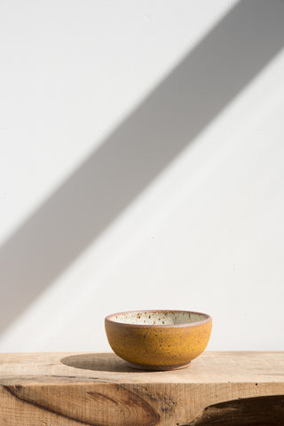 Heather Levine Small Yellow Ceramic Bowl | Oroboro Store | Brooklyn, New York