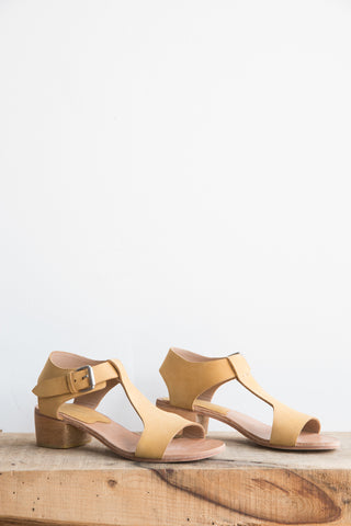 A Detacher Highsmith Sandal in Honey Nubuck | Oroboro Store | Brooklyn, New York